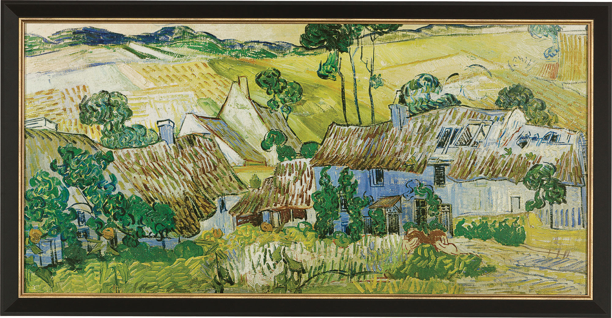 Farms Near Auvers Van Gogh Painting For Sale
