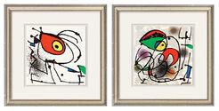 """2 Bilder """"Kleine Maus"""" und """"Kleiner Papagei"""" im Set"""