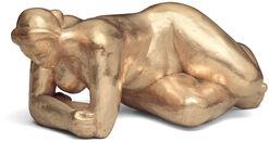 """Skulptur """"Erwachende"""" (2004)"""