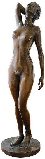 "Serge Mangin: Sculpture ""Eva"", Bronze"