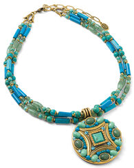 "Collier ""Colour of the Ocean"""