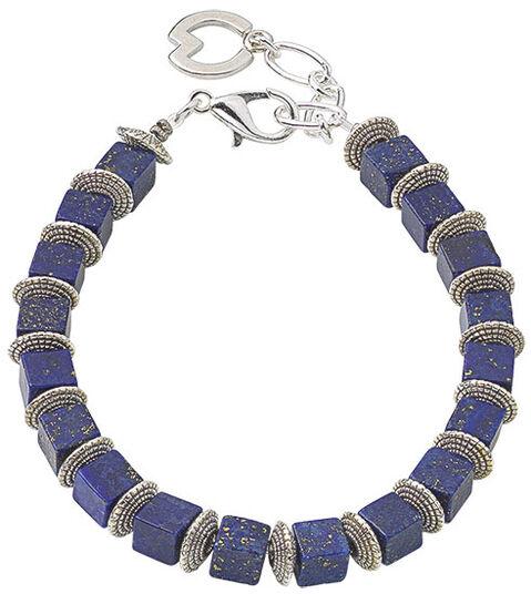 "Petra Waszak: Armband ""Midnight Blue"""