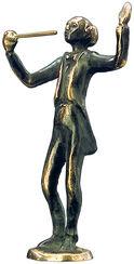 """Skulptur """"Dirigent"""", Bronze"""
