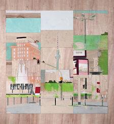 "Bild ""Straußberger Platz, Berlin"" (2013) (Unikat)"