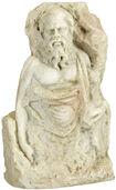 "Sculpture ""Socrates"", Artificial Marble"