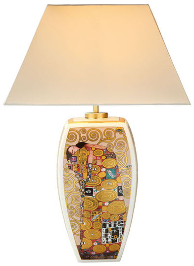 "Gustav Klimt: Table lamp ""The Fulfilment"""