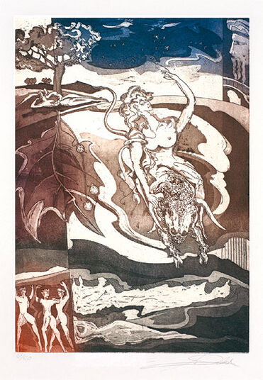 """Alfred Gockel: Bild """"Europa"""" (2010), ungerahmt"""