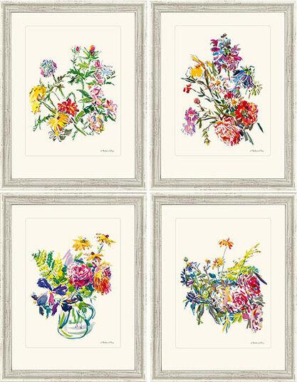 Oskar Kokoschka: Four Summer Bouquets