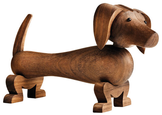 "Kay Bojesen: Holzfigur ""Hund"""