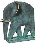 """Skulptur """"Elefant"""", Bronze"""