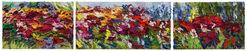 "3-teiliges Bild ""Blütenpracht"" (2015) (Original / Unikat), ungerahmt"