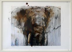 "Bild ""Elefant 1"" (2017) (Unikat)"