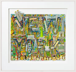 "3D-Bild ""I´m in a New York state of mind"" (2004)"