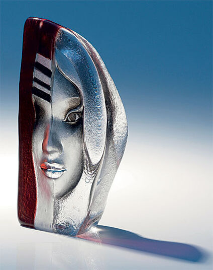 "Mats Jonasson: Glass Object ""Enora"""