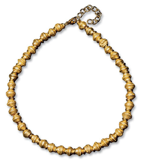 "Petra Waszak: Necklace ""Argonaut Gold"""