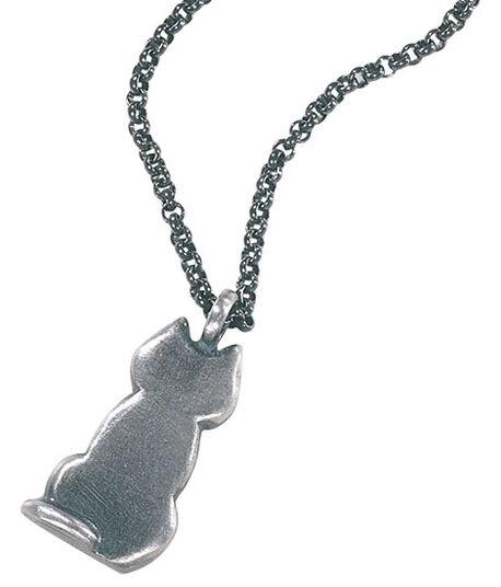 """Klaus Börner: pendant """"cat"""""""