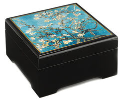 "Musical jewelry box ""Blossoming Mandel Branch"" (1890) - after Vincent van Gogh"