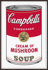 "Bild ""Warhols Sunday B. Morning - Campbell´s Soup - Cream of Mushroom"" (1980er Jahre)"