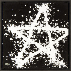"Bild ""Black and White Star"" (2010)"