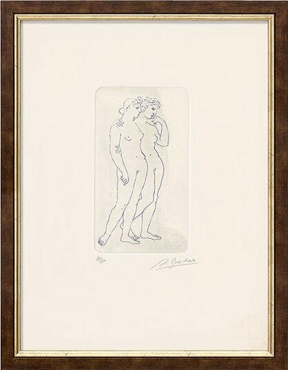 """Arno Breker: Bild """"Zwei Mädchen"""" (1981)"""