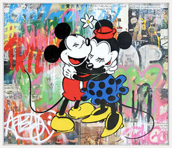 "Bild ""Mickey & Minnie"" (2015) (Unikat)"