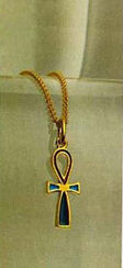"Pendant ""Ankh Amulet of the Princess Chenmet"" with chain"