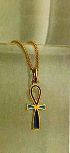 """Anhänger """"Anch-Amulett der Prinzessin Chenmet"""" mit Kette"""