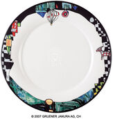 "Dinner Plate ""Ao Tea Roa"", 6-Part Set"