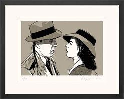 "Bild ""Casablanca"", gerahmt"