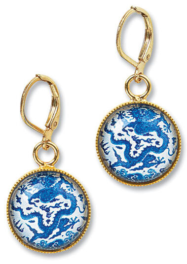"Petra Waszak: Earrings ""Ming"""