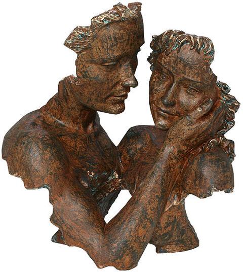 """Angeles Anglada: Skulptur """"Innocence"""", Kunstguss Steinoptik"""
