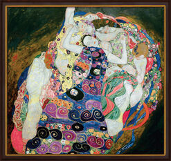 "Painting ""The Virgins (Jungfrauen)"" (1913), Framed"