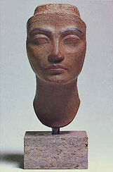Head of Queen Nofretete