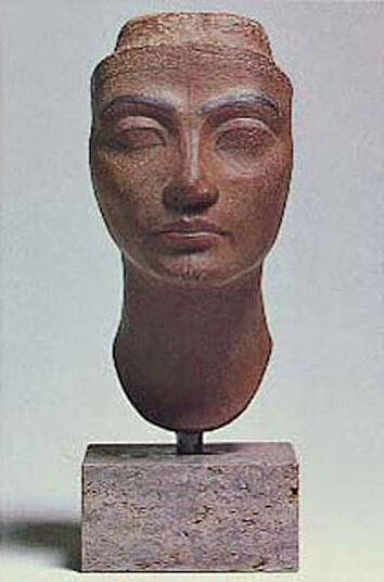 Head of Queen Nofretete