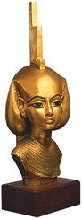 Head of Goddess Isis