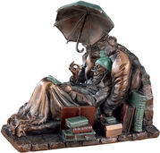 "Sculpture ""The Poor Poet"" (1839), polyresin"