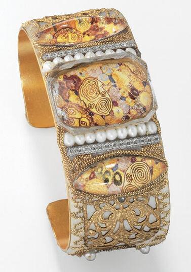 Petra Waszak: Bracelet 'Golden Adele'