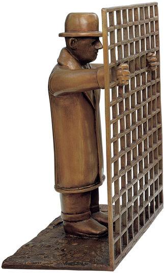 """Siegfried Neuenhausen: """"Man with Fence"""""""