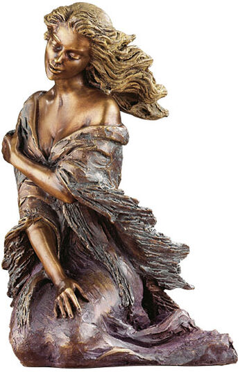 "Manuel Vidal: Sculpture ""Breeze"", bronze"