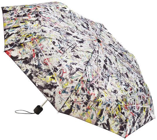 """Jackson Pollock: Taschenschirm """"White Light"""""""
