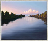 "Picture  ""Evening River"""