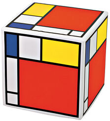 "Hocker ""Mondrian"""