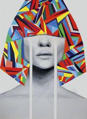 "Bild ""Blind Memories"" (2017) (Unikat)"