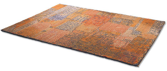 "Paul Klee: Artistic Carpet ""Florence Residential Area"", 1926 (183 x 275 cm)"