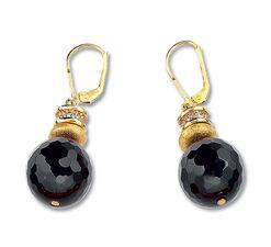 """Earrings """"Onyx Judith"""""""