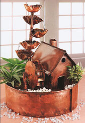 """Room fountain """"Water Mill"""", copper"""