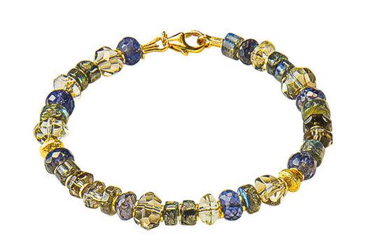 """Marc Kolsters: Armband """"Crystalline"""""""