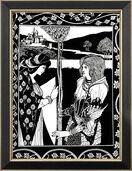 """Bild """"Tristan und Isolde"""" (1893), gerahmt"""