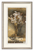 "Art print flower still life ""Gunilla"", framed"