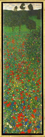 "Painting ""Poppy Field"""